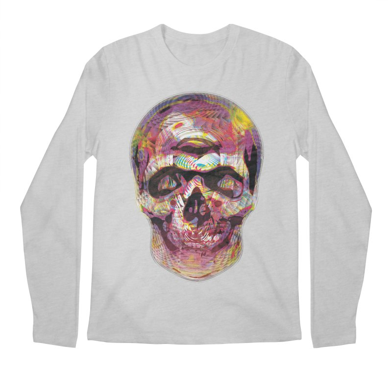 Sharped skull Men's Longsleeve T-Shirt by re3a's Artist Shop