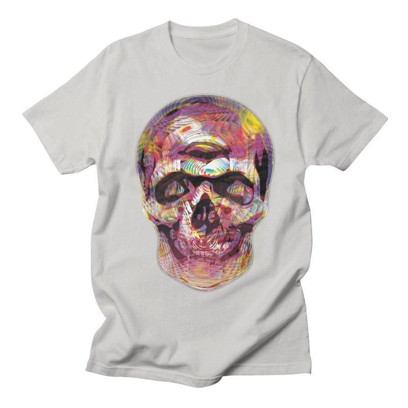 Sharped skull Men's Regular T-Shirt by re3a's Artist Shop