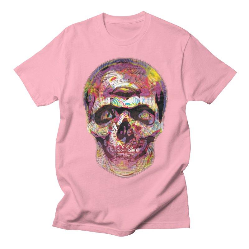 Sharped skull Men's T-Shirt by re3a's Artist Shop