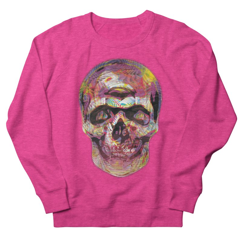 Sharped skull Women's French Terry Sweatshirt by re3a's Artist Shop