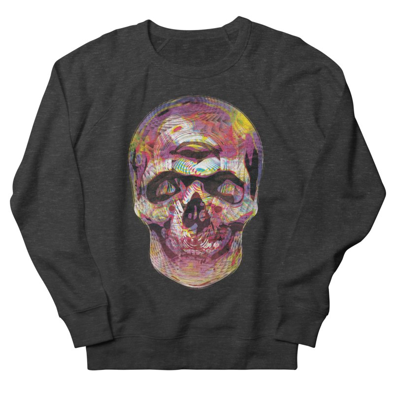 Sharped skull Men's Sweatshirt by re3a's Artist Shop