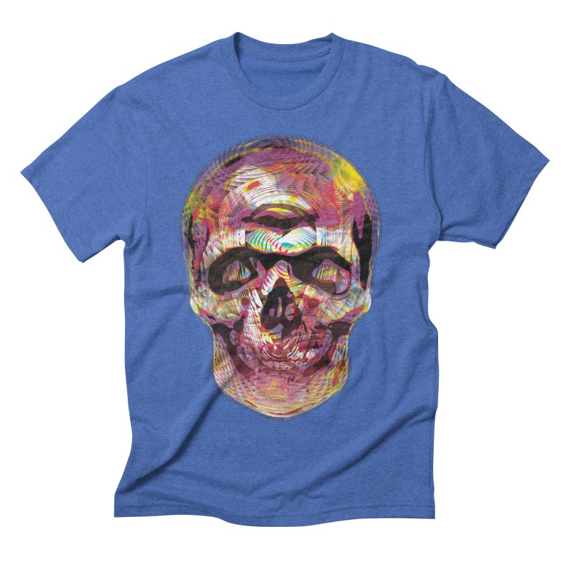 Sharped skull Men's Triblend T-Shirt by re3a's Artist Shop