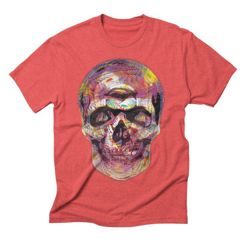 Sharped skull Men's Triblend T-Shirt by re3a's Artist Shop