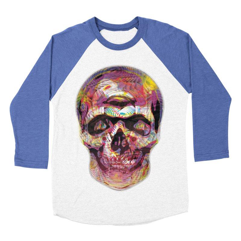 Sharped skull Women's Baseball Triblend Longsleeve T-Shirt by re3a's Artist Shop