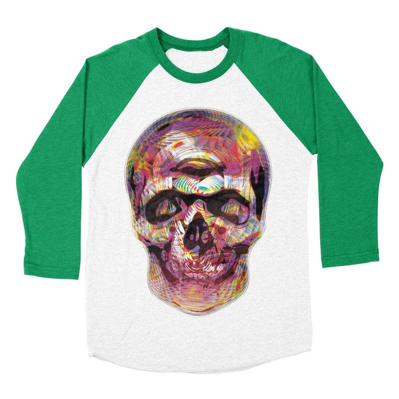 Sharped skull Women's Baseball Triblend T-Shirt by re3a's Artist Shop