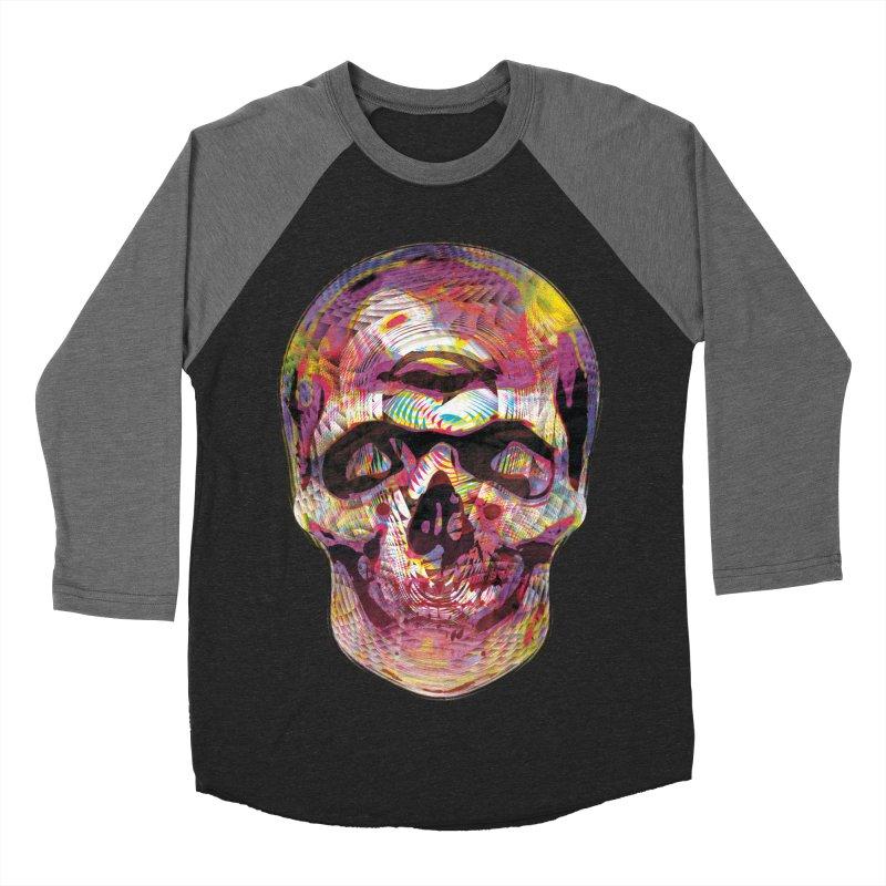 Sharped skull Men's Baseball Triblend T-Shirt by re3a's Artist Shop
