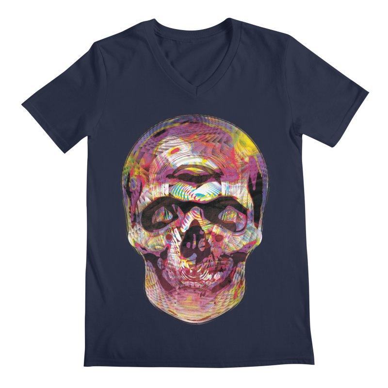 Sharped skull Men's Regular V-Neck by re3a's Artist Shop