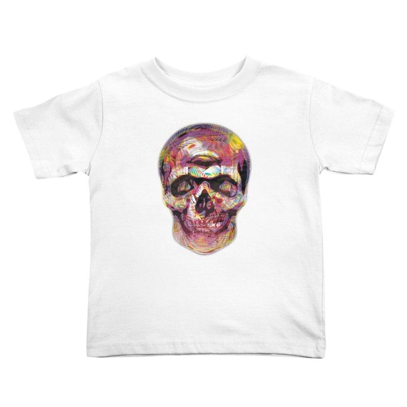 Sharped skull Kids Toddler T-Shirt by re3a's Artist Shop
