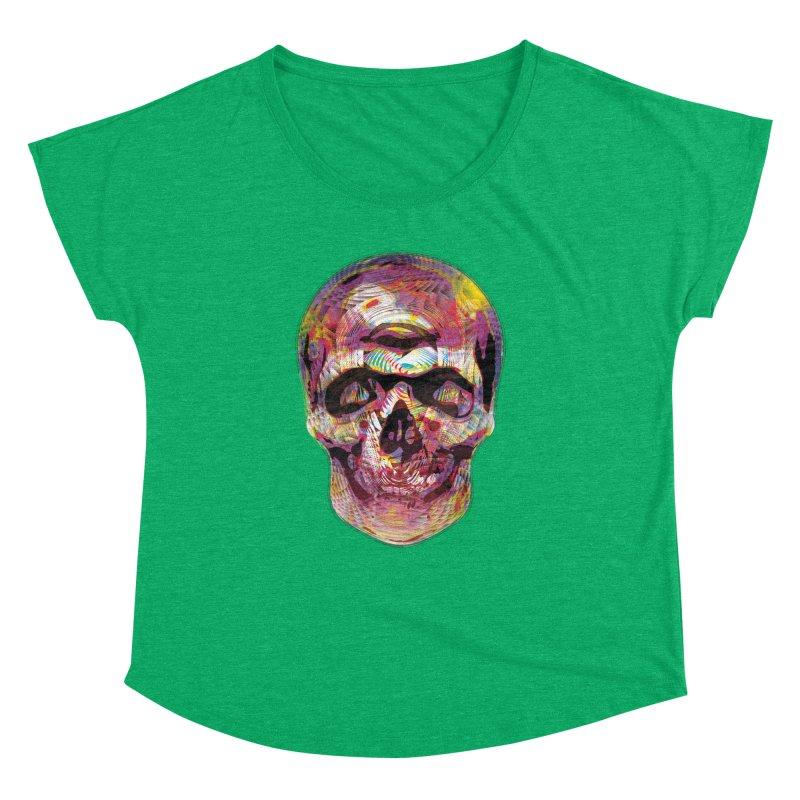 Sharped skull Women's Dolman by re3a's Artist Shop