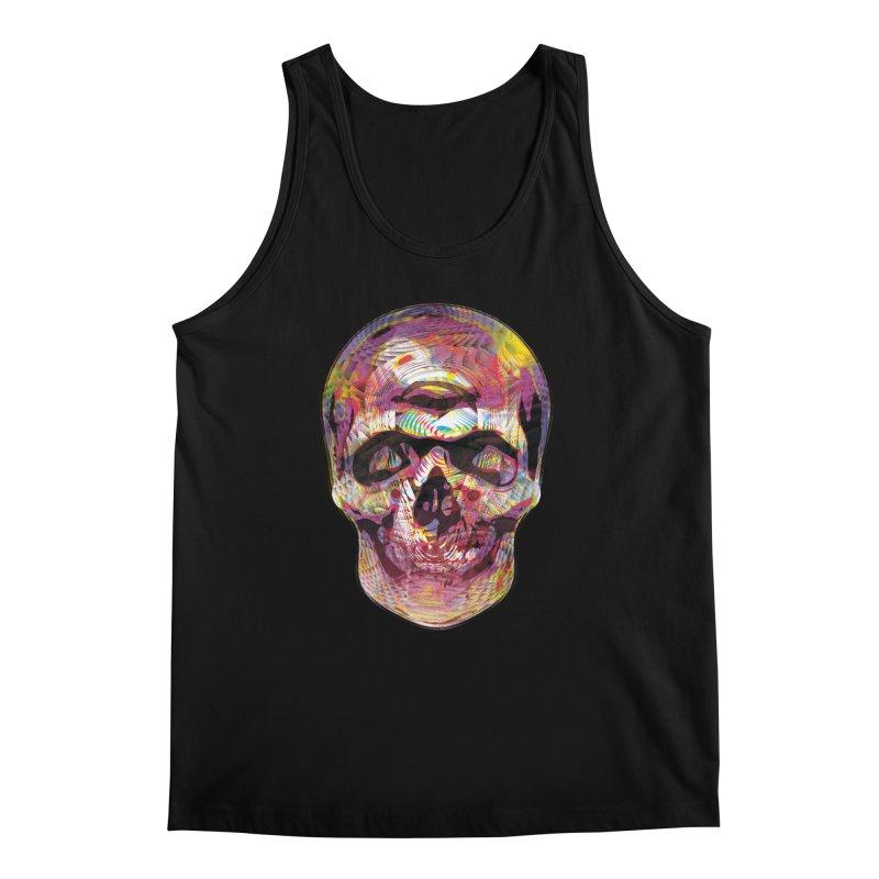 Sharped skull Men's Tank by re3a's Artist Shop