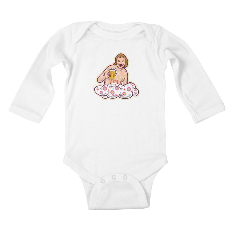 Za lubov  Kids Baby Longsleeve Bodysuit by re3a's Artist Shop