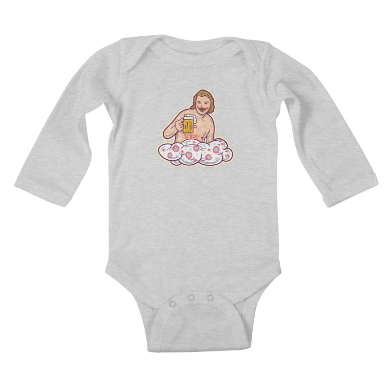 Za lubov  Kids Baby Longsleeve Bodysuit by re3a's Artist Shop