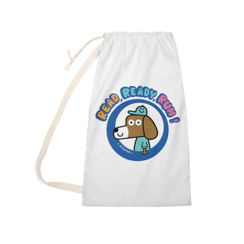Read Ready Run Accessories Laundry Bag Bag by readreadyrun's Artist Shop