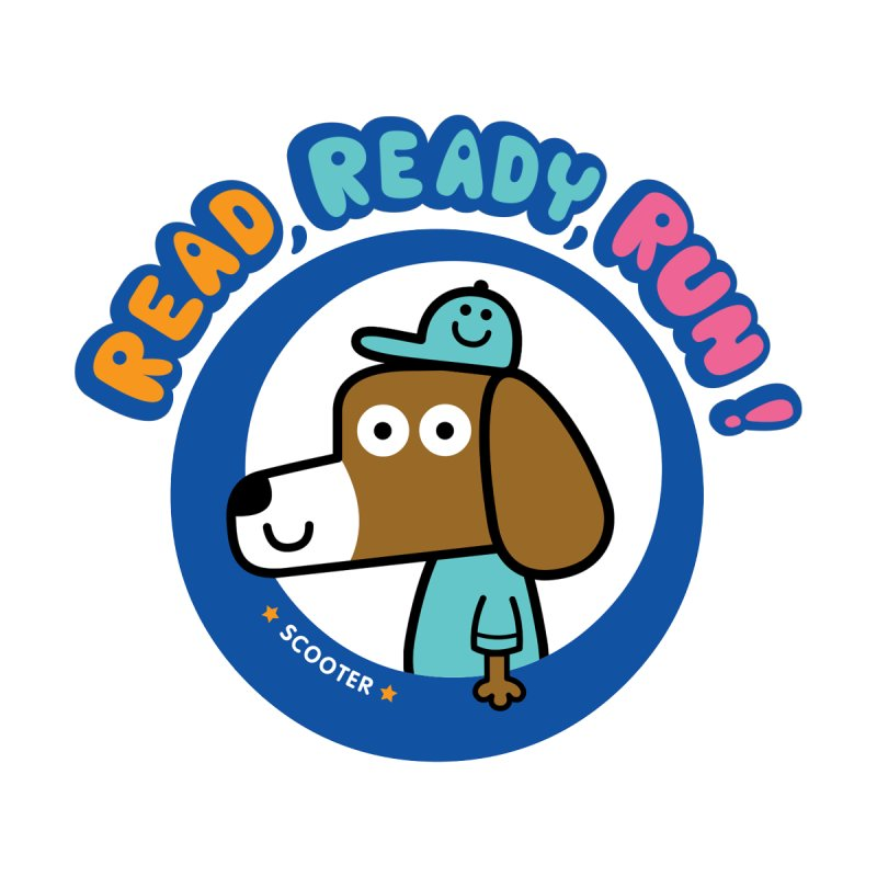 Read Ready Run Kids Baby T-Shirt by readreadyrun's Artist Shop