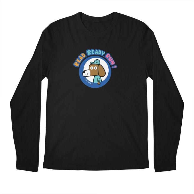 Read Ready Run Men's Regular Longsleeve T-Shirt by readreadyrun's Artist Shop