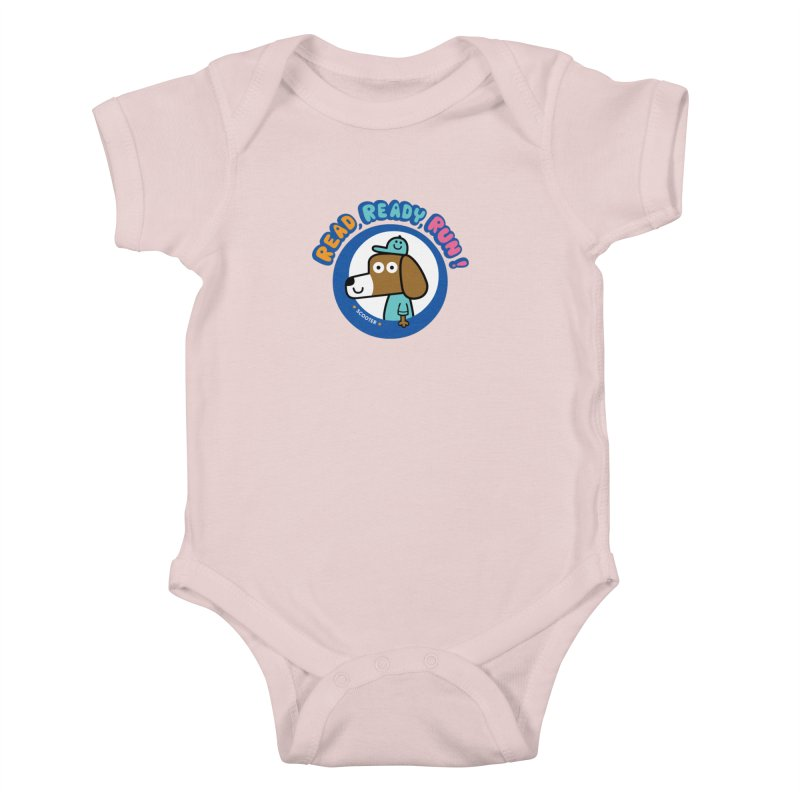 Read Ready Run Kids Baby Bodysuit by readreadyrun's Artist Shop