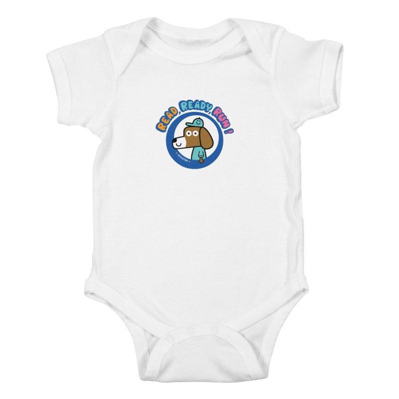 Read Ready Run Kids Baby Bodysuit by readreadyrun's Artist Shop