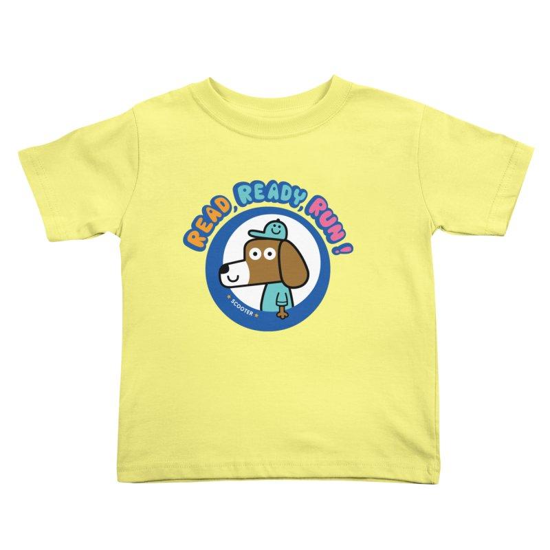 Read Ready Run Kids Toddler T-Shirt by readreadyrun's Artist Shop