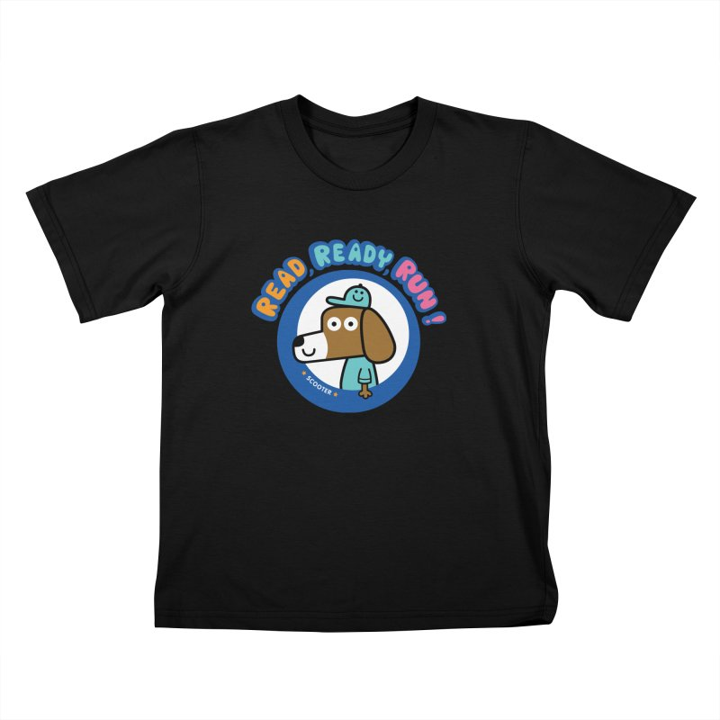 Read Ready Run Kids T-Shirt by readreadyrun's Artist Shop