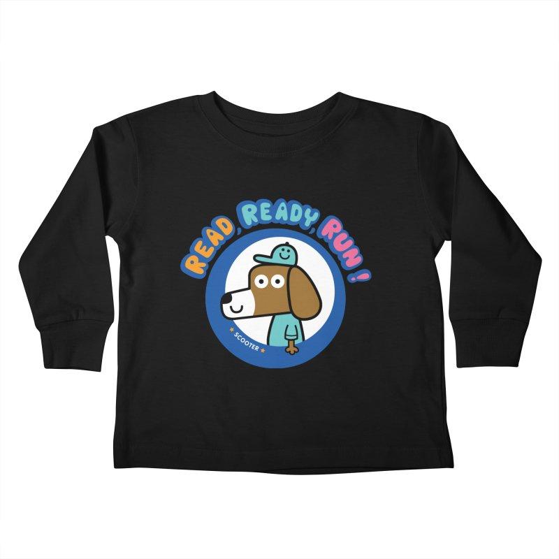 Read Ready Run Kids Toddler Longsleeve T-Shirt by readreadyrun's Artist Shop