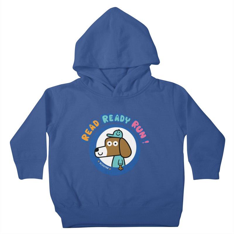 Read Ready Run Kids Toddler Pullover Hoody by readreadyrun's Artist Shop