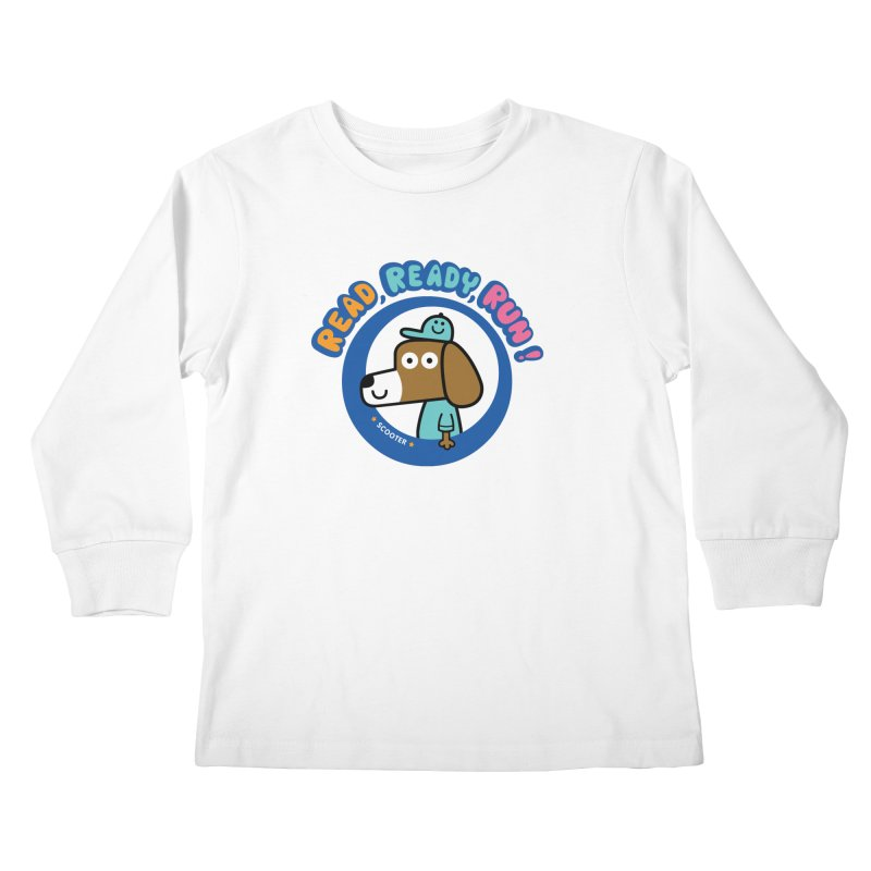 Read Ready Run Kids Longsleeve T-Shirt by readreadyrun's Artist Shop
