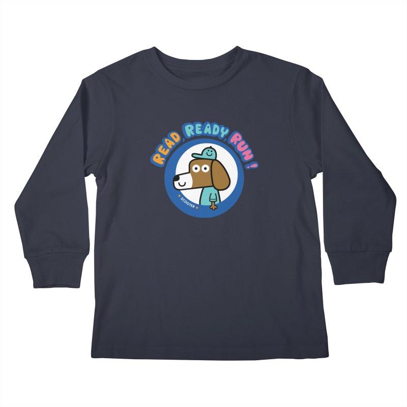 Read Ready Run Kids Longsleeve T-Shirt by readreadyrun's Artist Shop