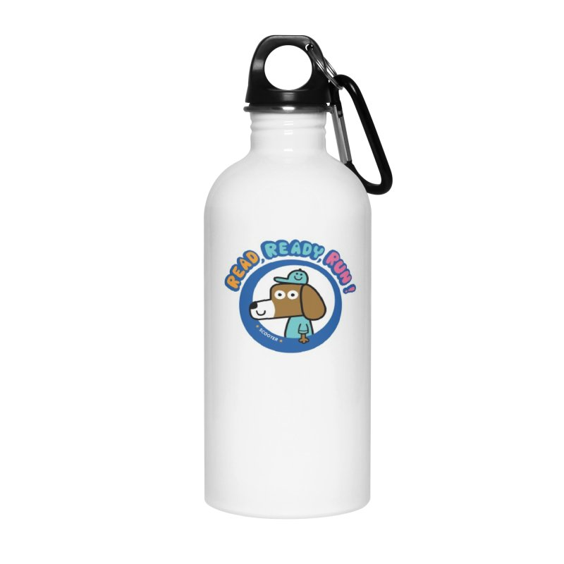 Read Ready Run Accessories Water Bottle by readreadyrun's Artist Shop