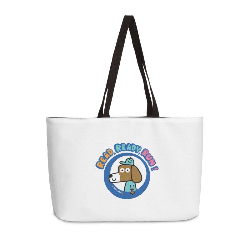 Read Ready Run Accessories Weekender Bag Bag by readreadyrun's Artist Shop