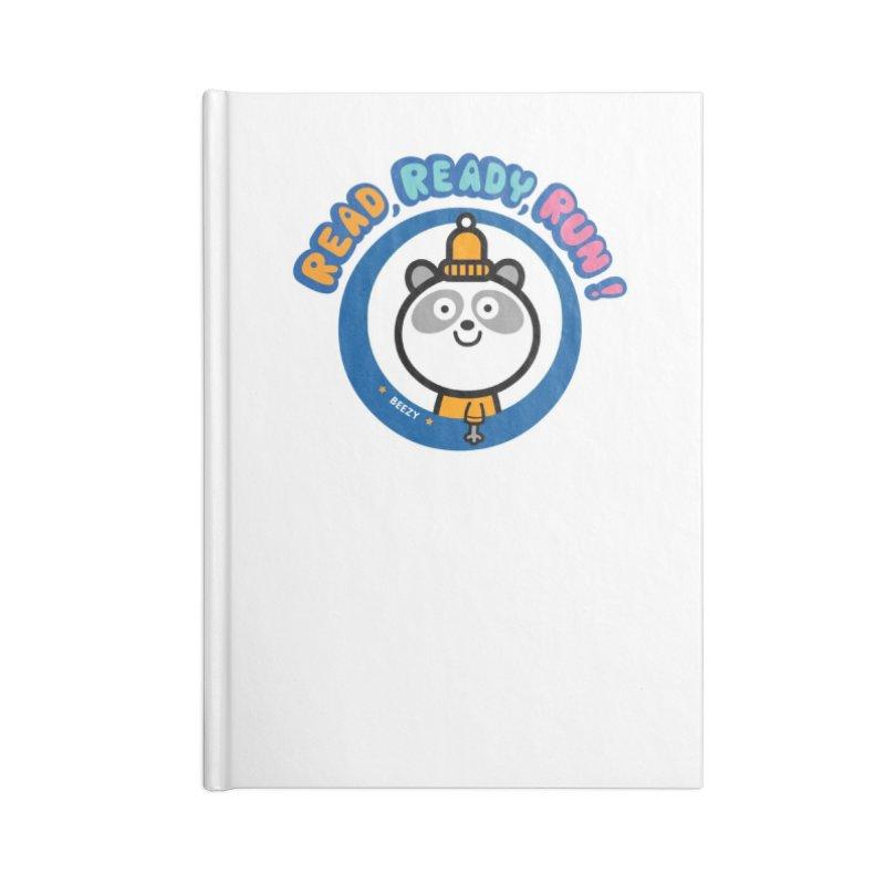 Beezy Accessories Lined Journal Notebook by readreadyrun's Artist Shop