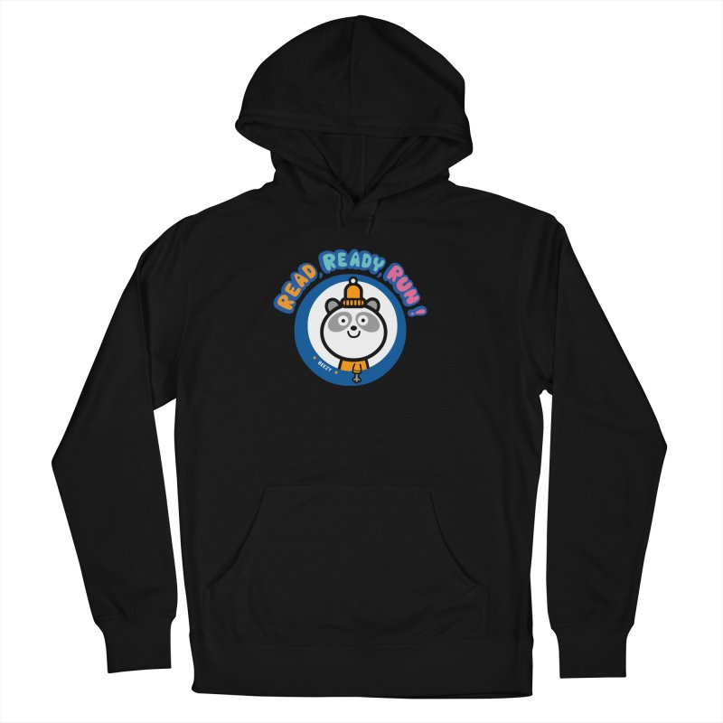 Beezy Men's French Terry Pullover Hoody by readreadyrun's Artist Shop