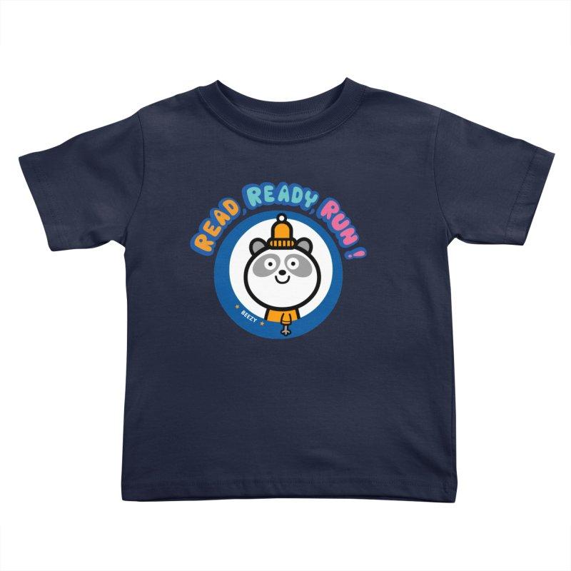 Beezy Kids Toddler T-Shirt by readreadyrun's Artist Shop