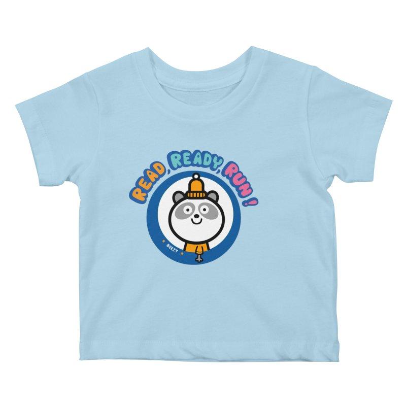 Beezy Kids Baby T-Shirt by readreadyrun's Artist Shop