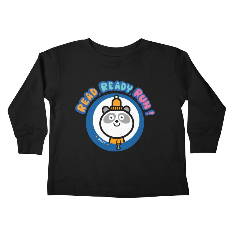Beezy Kids Toddler Longsleeve T-Shirt by readreadyrun's Artist Shop