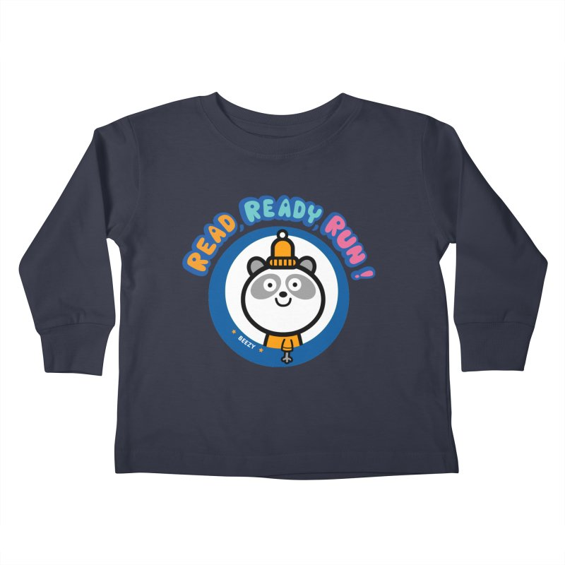 Beezy Kids Toddler Longsleeve T-Shirt by readreadyrun's Artist Shop
