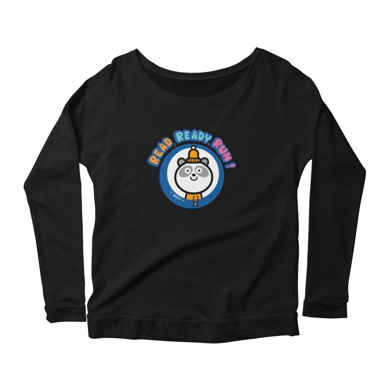 Beezy Women's Scoop Neck Longsleeve T-Shirt by readreadyrun's Artist Shop