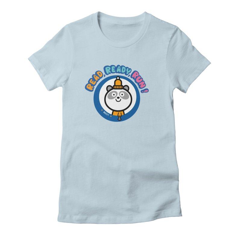 Beezy Women's Fitted T-Shirt by readreadyrun's Artist Shop