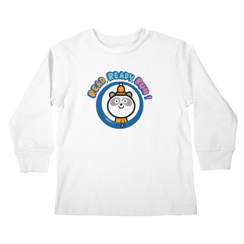 Beezy Kids Longsleeve T-Shirt by readreadyrun's Artist Shop