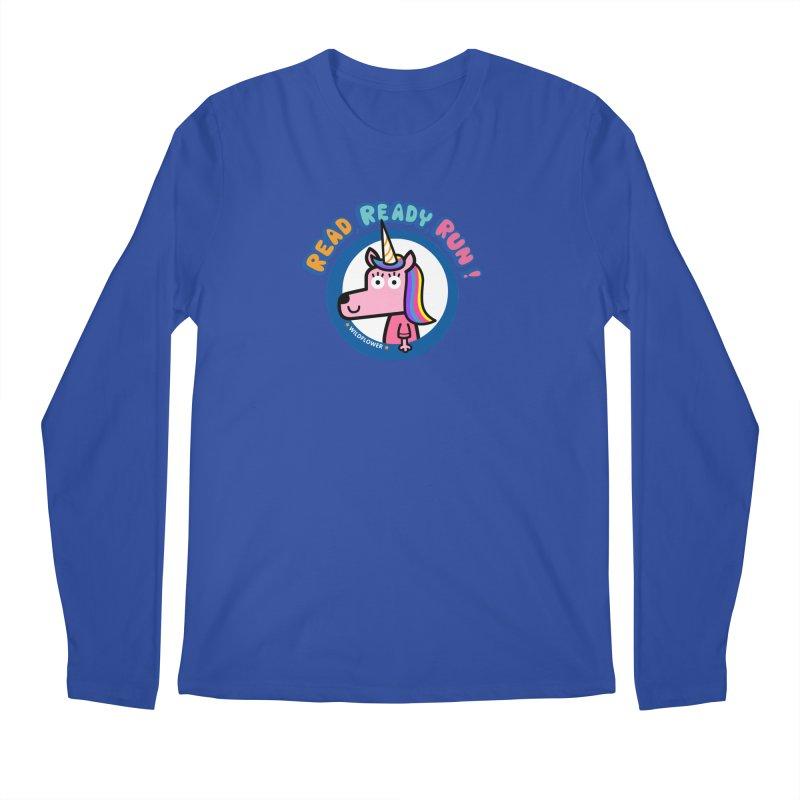 Wildflower Men's Regular Longsleeve T-Shirt by readreadyrun's Artist Shop