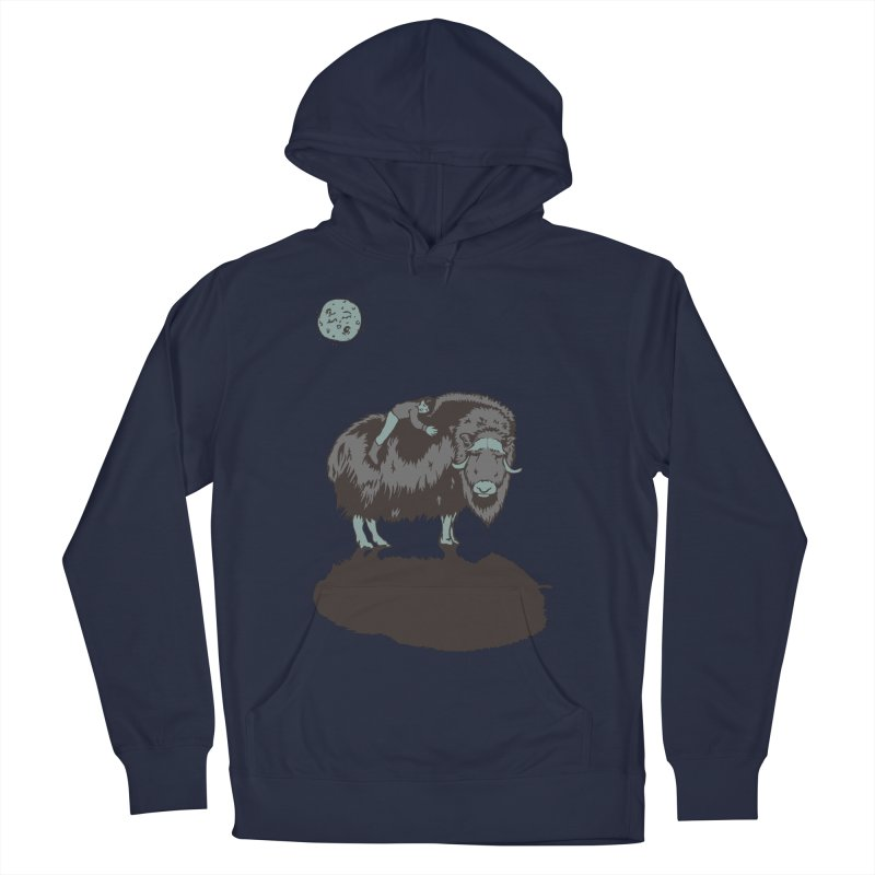 Muskox by Moonlight   by readyyetiart's Artist Shop