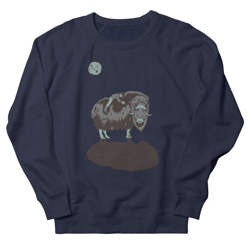 Muskox by Moonlight Women's Sweatshirt by readyyetiart's Artist Shop