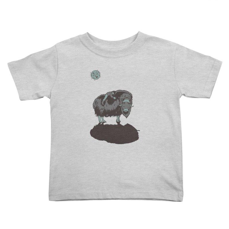 Muskox by Moonlight Kids Toddler T-Shirt by readyyetiart's Artist Shop