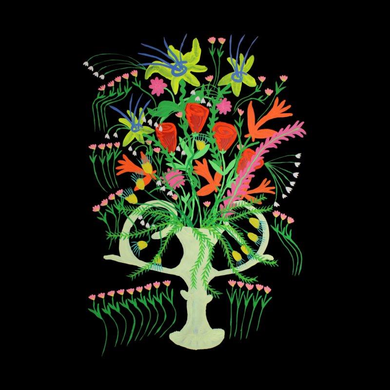 White Vase Men's T-Shirt by Real Dominic Artwork