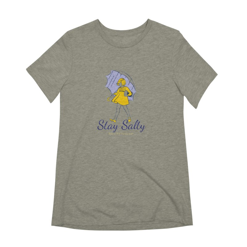 Stay Salty Girl Women's Extra Soft T-Shirt by RealiTV Podcast Shop