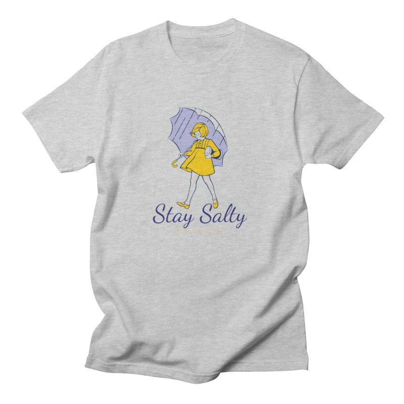 Stay Salty Girl Women's Regular Unisex T-Shirt by RealiTV Podcast Shop
