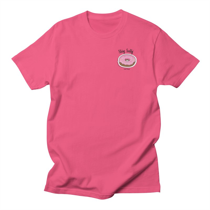 Stay Salty Donut Women's Regular Unisex T-Shirt by RealiTV Podcast Shop