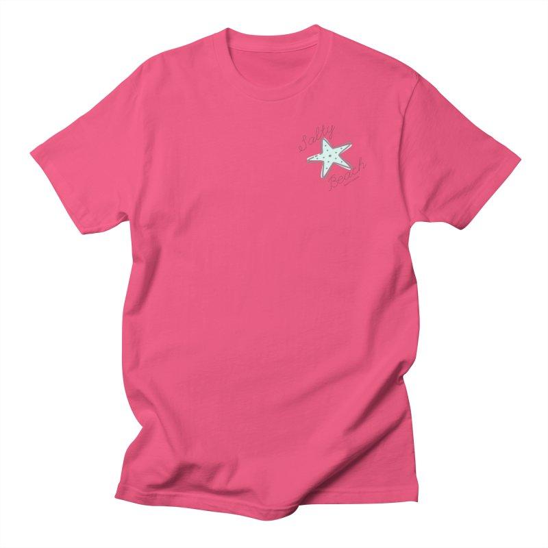 Salty Beach Green Women's Regular Unisex T-Shirt by RealiTV Podcast Shop