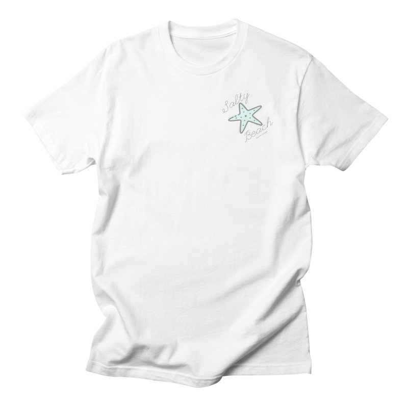 Salty Beach Green Men's T-Shirt by RealiTV Podcast Shop