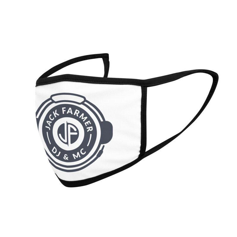 DJ Jack Farmer Shirt Accessories Face Mask by Jack Farmer Apparel