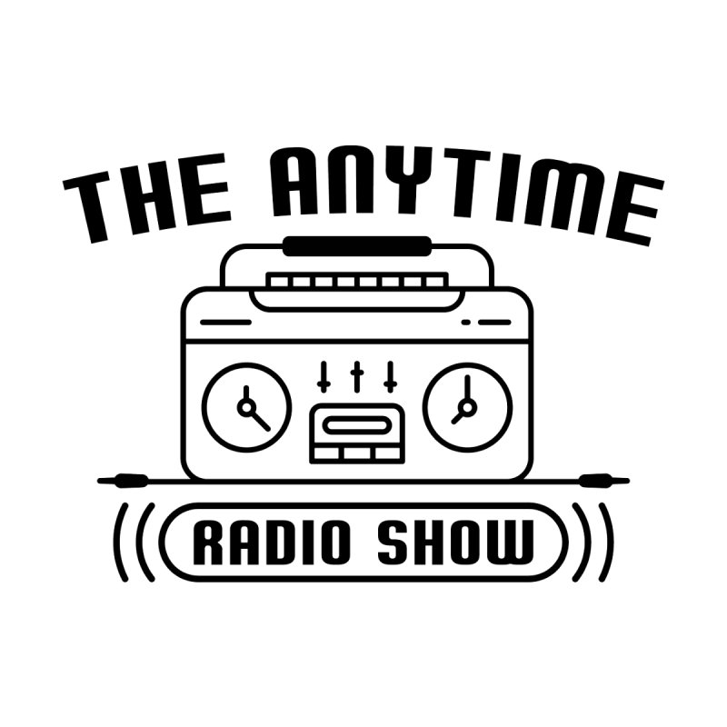 Anytime Radio Ringer T Shirt Men's T-Shirt by Jack Farmer Apparel